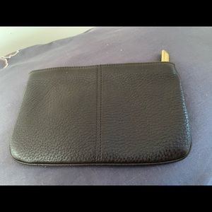 COACH LEATHER WALLET POUCH EUC